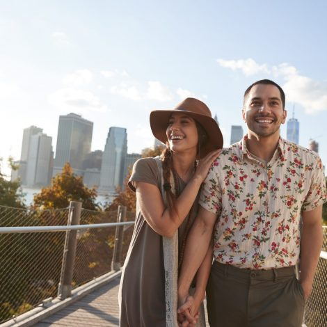 Couple Visiting New York